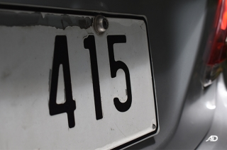 LTO number 5 plate extension