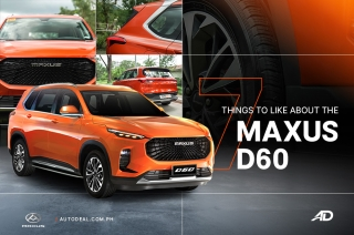 Maxus D60 7 things to like