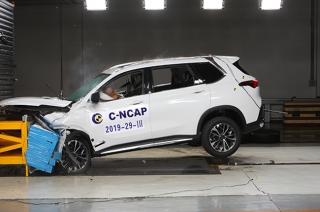 Maxus D60 earns high scores during crash safety test