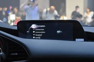 Mazda 3 infotainment main