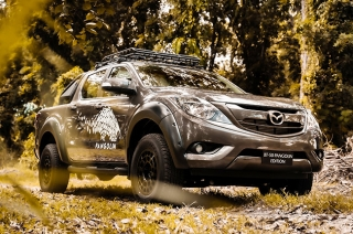 Mazda BT-50 Pangolin pays tribute to the endangered mammal in Palawan