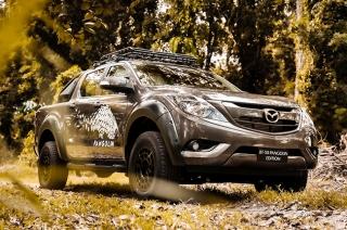 Mazda BT-50 Pangolin pays tribute to the endangered mammal in Palawan