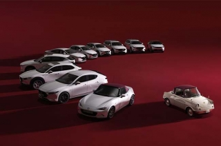 Mazda celebrates its 100th year anniversary