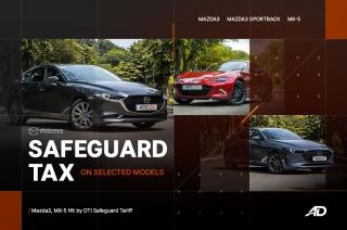 Mazda Philippines safaguard duties