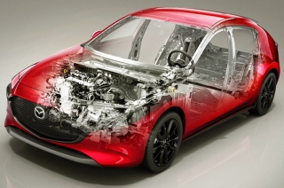 Mazda3 to be built using high-strength steel
