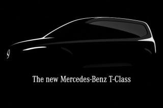 Mercedes-Benz T-Class teaser