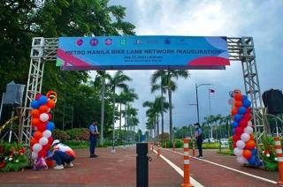 Metro Manila Bike Lane Network now open to cyclists