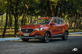 MG ZS Alpha orange