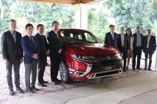 Mitsubishi MoU signing