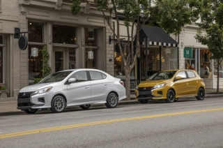 Mitsubishi North America finally gets the updated Mirage hatch and G4