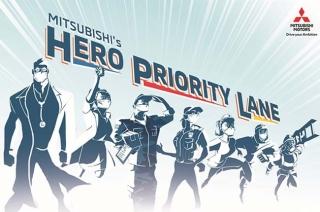 Mitsubishi Philippines hero priority lane