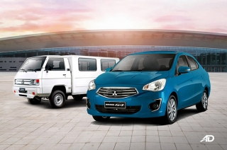 Mitsubishi Philippines' Rollback Promo makes Mirage G4 and L300 more affordable