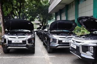 Mitsubishi Philippines turned over 95 Strada pickups to the NIA