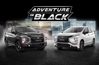 Mitsubishi Xpander and Xpander Cross black edition