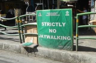 MMDA jaywalking NBI