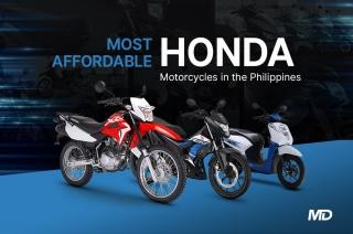 Most Affordable Honda Motorcycles