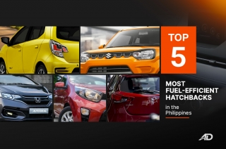 Most fuel-efficient hatchbacks in the Philippines