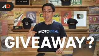 MotoDeal Launch Giveaway - Behind a Desk