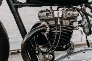 Motorcycle Aircooled Engine