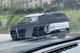 New Kia Seltos-based EV spotted testing in South Korea