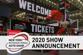 New your auto show announcement