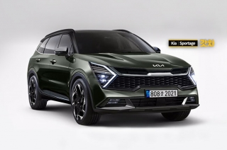 Next-generation Kia Sportage rendered based on recent spy shots