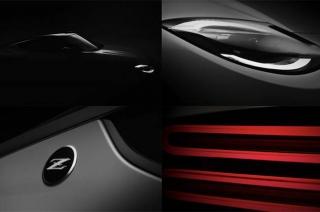 Nissan 400z prototype teaser photos