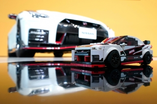Nissan GT-R Nismo lego model