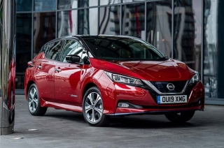 Nissan leaf EV to be introduced in 2020