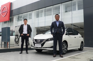 Nissan LEAF now in Davao and Tagum City