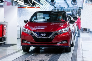 Nissan LEAF reaches its 500,000th production mark