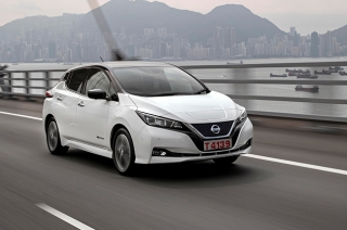 Nissan LEAF's quiet engine can lower risk for heart-related complications.