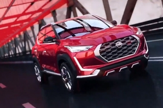 Nissan Magnite Concept exterior front