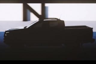 Nissan Next Navara teaser