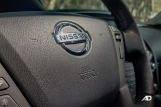 Nissan Patrol steering wheel