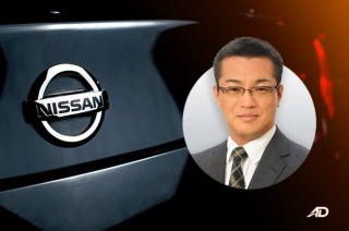Nissan president and managing director Atsushi Najima
