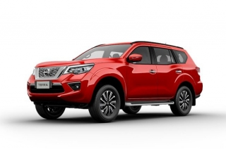 Nissan Terra Fiery Red