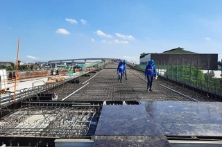 NLEX Connector construction already reached Manila