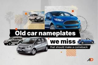 Old car nameplates we miss that should make a comeback