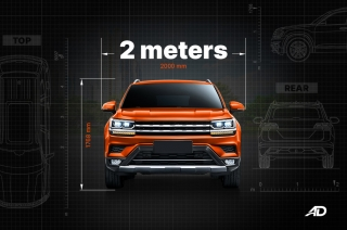 Passenger cars wider than two meters?