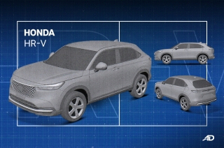 Patent images of the all-new Honda HR-V surfaced online