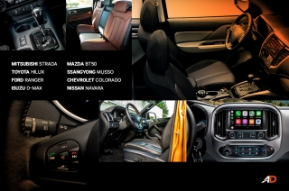 Pickup Truck Interior Comparison
