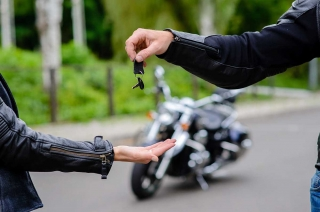 Purchasing a used motorcycle