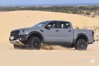 Ranger Raptor desert test mui ne