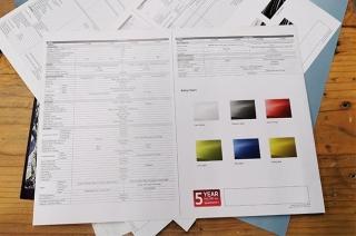 reading the spec sheet
