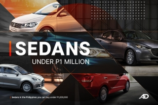 Sedans in the Philippines you can buy under P1-million