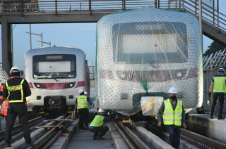 SMC has delivered a new batch of MTR-7 trains
