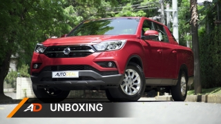 SsangYong Musso Grand Pickup Truck AutoDeal Unboxing