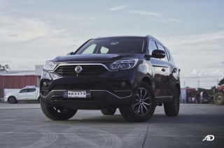 Ssangyong Rexton road test photo