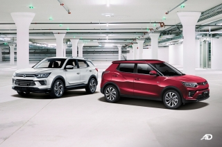 Ssangyong Tivoli and Korando